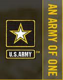 """3 """"Army of One"""" logo"""