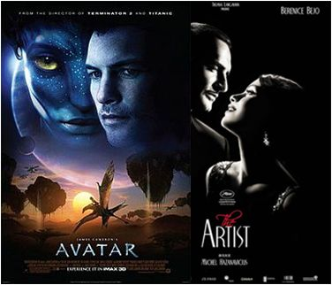 Avatar vs The Artist - similar but yet so different!