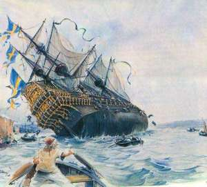 Vasa capsizing
