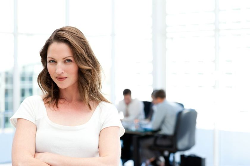 Woman raise group intelligence