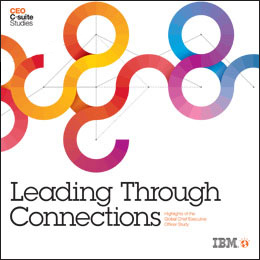 Mastering the connected economy – key findings of IBM's 2012 CEO study