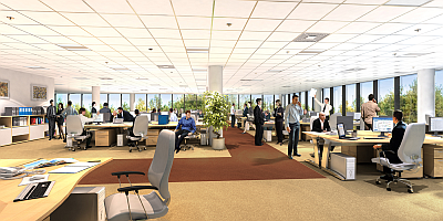 Open Office Plan (source: Foundation 7)