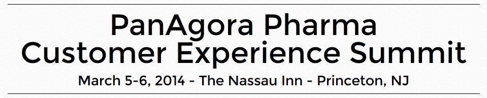 Join me at the Customer Experience Summit 2014 in Princeton/NJ on March 6,2014