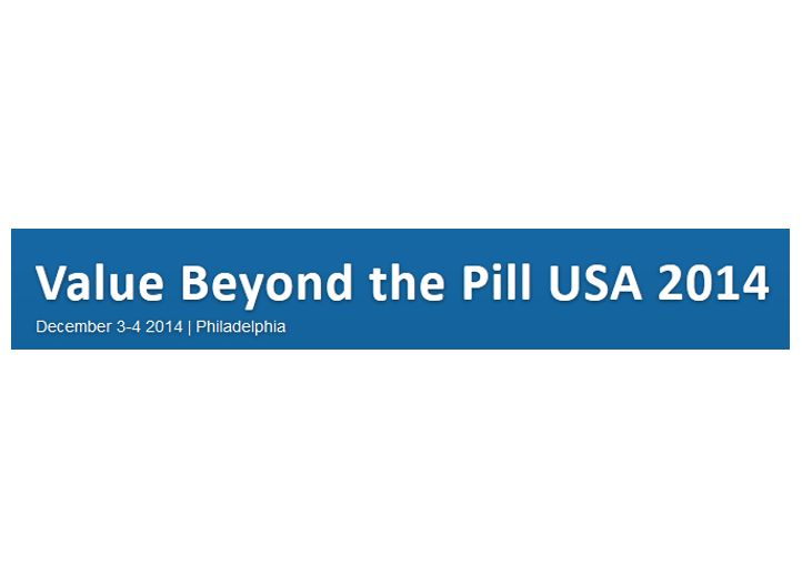 Join me at eyeforpharma's Value Beyond the Pill Summit, Philadelphia, December 3, 2014