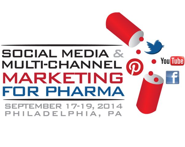Join me at Social Media and Multi-Channel Marketing For Pharma, Philadelphia, 19-Sep-2014