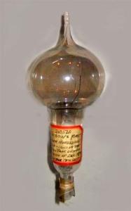 Edison's Lightbulb (source: www.unmuseum.org)