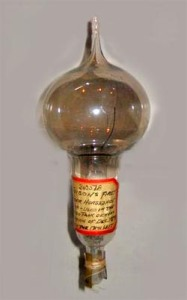 Edison's Lightbulb (source: www.unmuseum.org)
