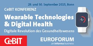 "Join me at ""Wearable Technologies & Digital Health"" Sep. 29, 2015"