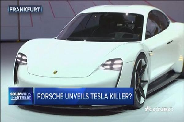 Porsche unvels Tesla Killer