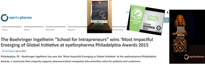 Eyeforpharma Award SFI